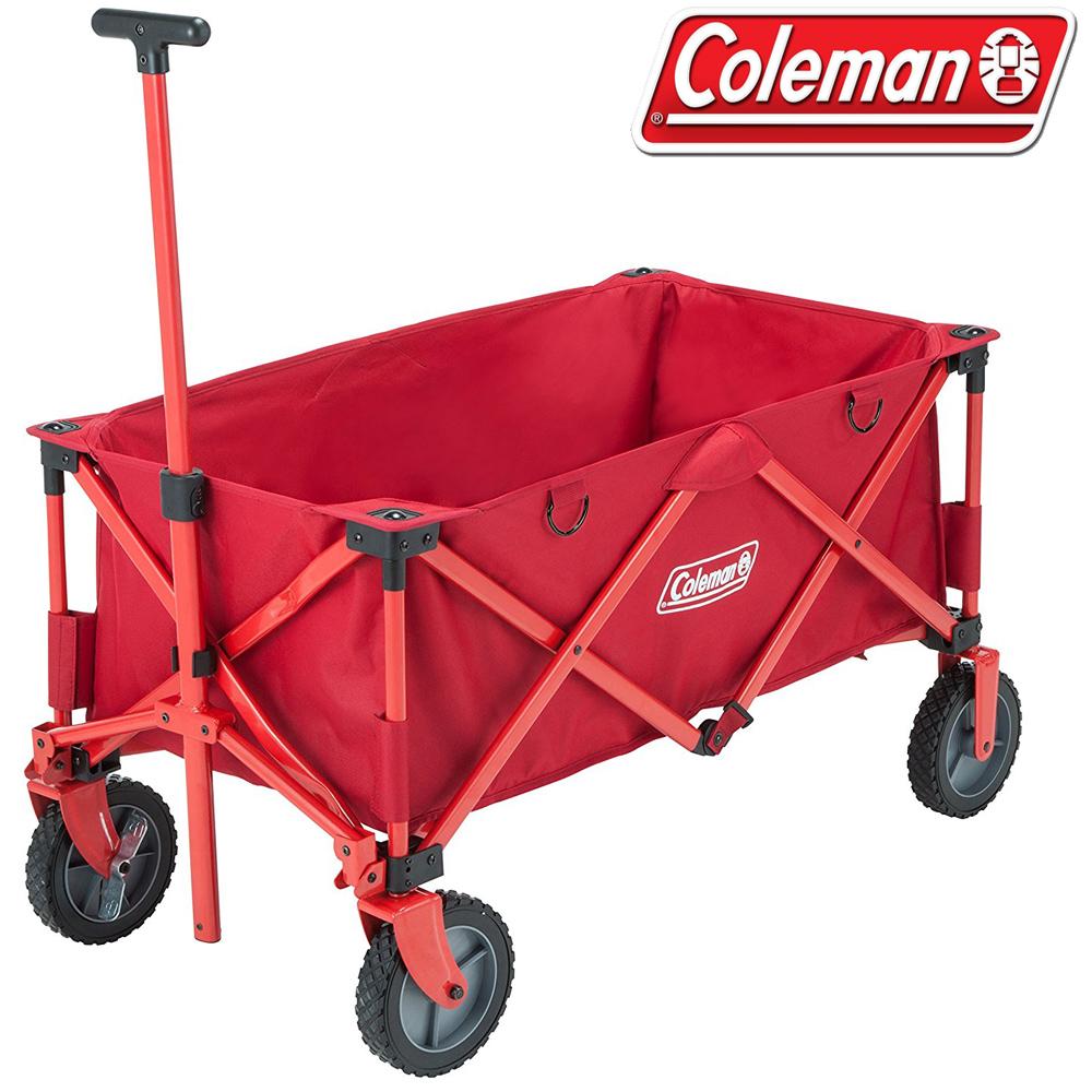 Coleman CM-21989 懷舊四輪露營拖車/野餐車 購物收納車/寵物座車