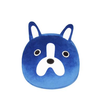 Yvonne Collection狗狗手插枕-深藍