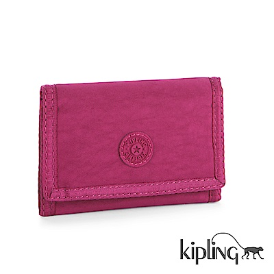 Kipling 零錢包 乾燥玫瑰素面-小
