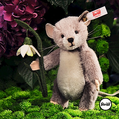 STEIFF德國金耳釦泰迪熊 - 老鼠 Lena Mouse(限量版)