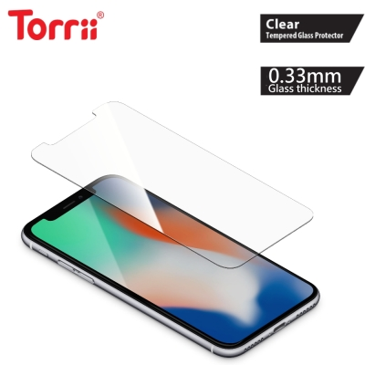 Torrii iPhoneX 玻璃保護貼(BODYGLASS/透明)