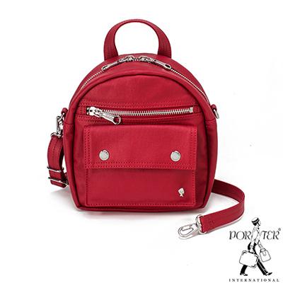 PORTER - 輕甜繽紛SPIRIT時尚優雅肩背包 - 薔薇紅(銀)