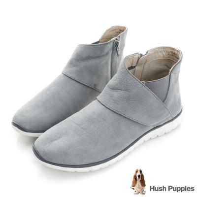 Hush Puppies CAREEN 輕量休閒裸靴-灰色