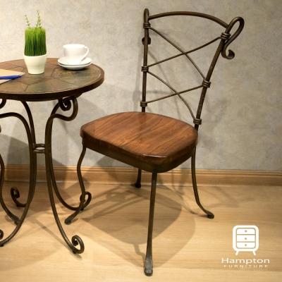 漢妮Hampton貝克休閒椅-深色50x50x90cm