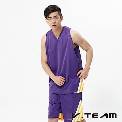 VTEAM 吸排籃球背心-中紫