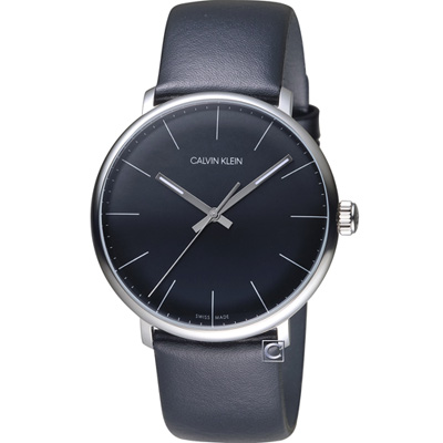 Calvin Klein high noon系列極簡腕錶(K8M211C1)黑/40mm