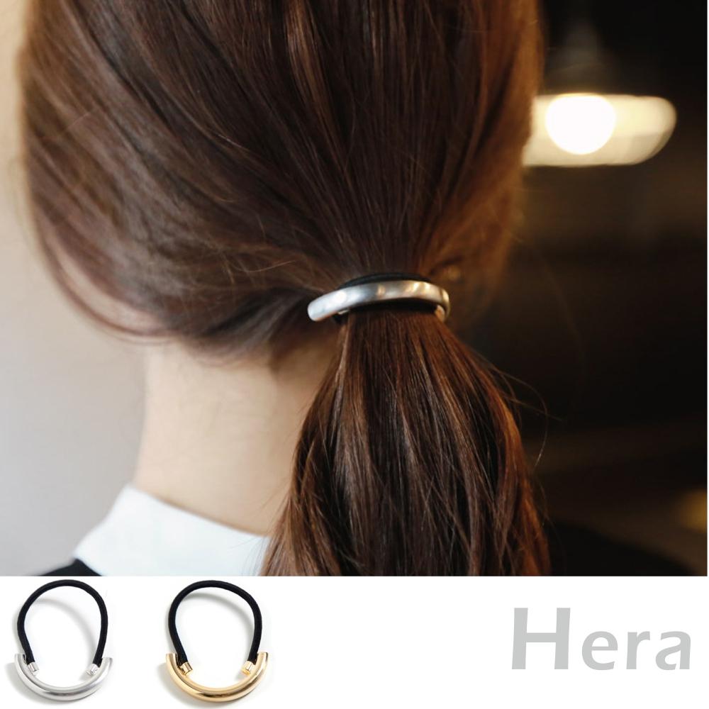 Hera 赫拉 金屬半圓C字髮圈/髮束-二色
