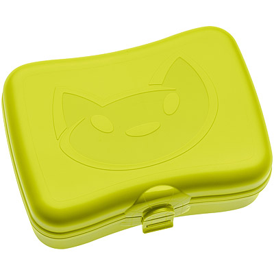 KOZIOL貓咪午餐盒綠