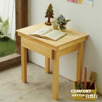 CiS自然行兒童家具 無甲醛-兒童學習桌-一抽(扁柏自然色)