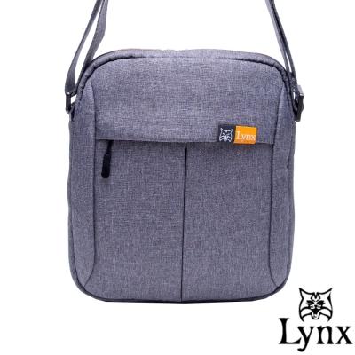 Lynx - 山貓男防潑水休閒直式斜背包