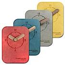 簡約時尚日式北歐風格桌上型靜音座鐘 時鐘-四色任選