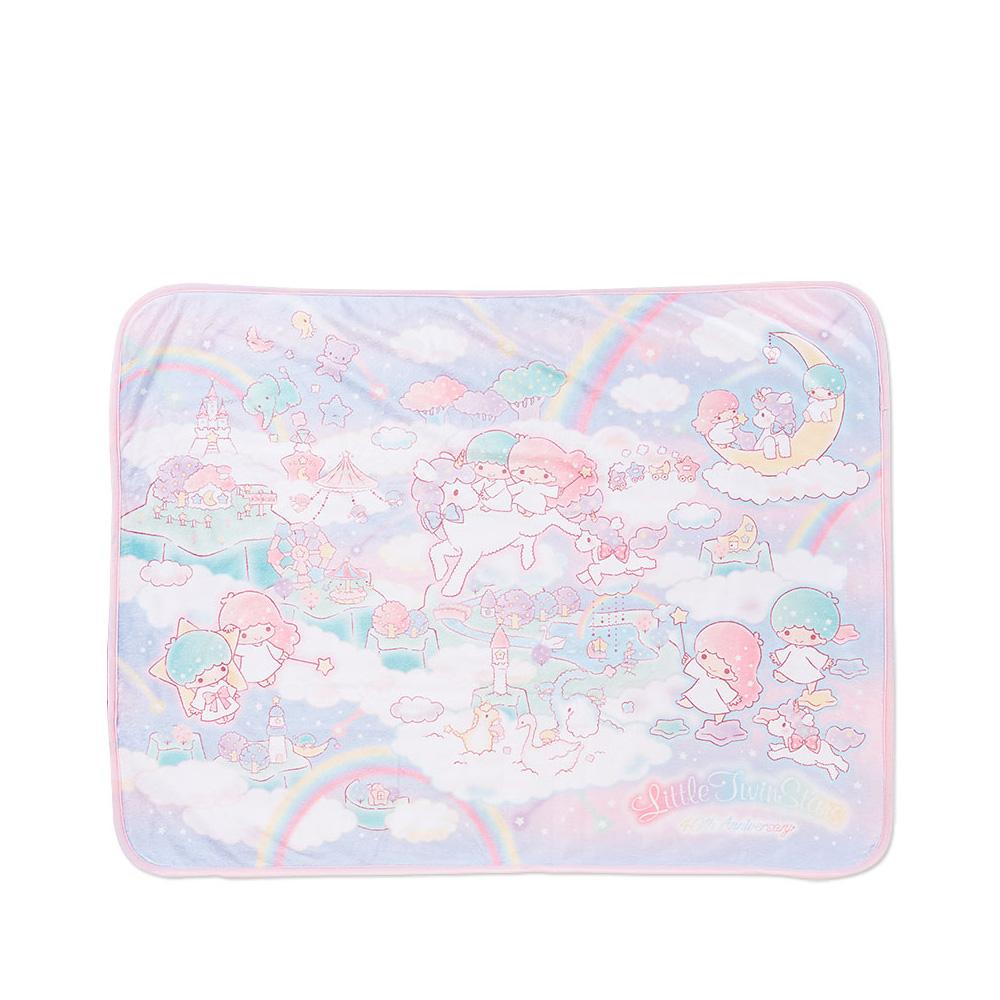 Sanrio 雙星仙子40週年夢幻星雲系列絨毛膝上毯