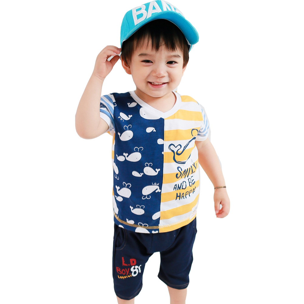魔法Baby 短T&哈倫短褲 k35230