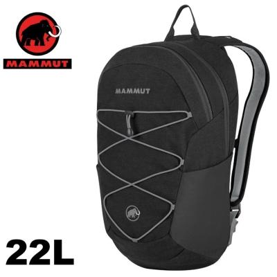 【MAMMUT 長毛象】新款 Xeron Flip 22L 多功能休閒電腦背包/ 石墨灰