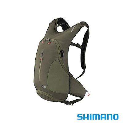 SHIMANO ROKKO 全功能背包-無水袋 16L 橄欖綠