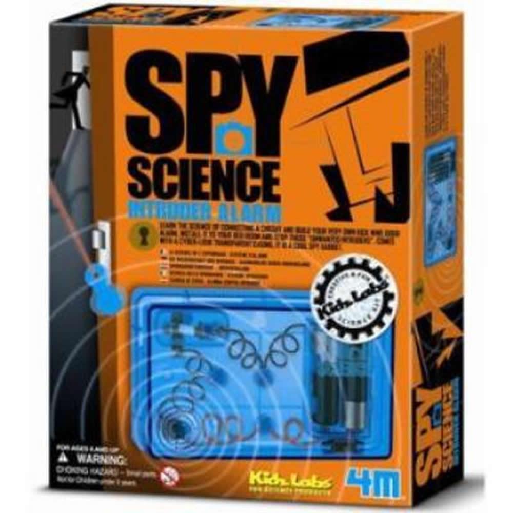 《4M科學探索》 間諜警報器