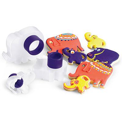 《CUISIPRO》可愛動物餅乾壓模器(3入)