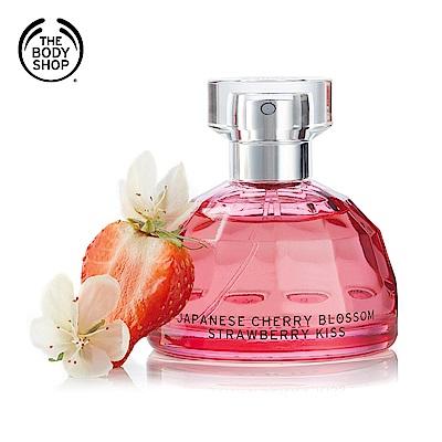 The Body Shop 日本櫻花親親草莓香水50ML