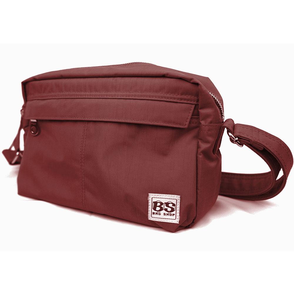 aaronation 愛倫國度 - BS系列防潑水經典雙口袋斜背包-四色