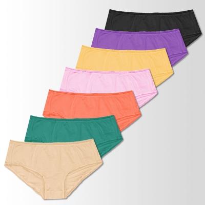 sloggi-SHINE閃亮系列低腰平口褲七件包 M-EL(K9色)