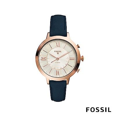 FOSSIL Q JACQUELINE 賈姬風尚智慧手錶-藍色