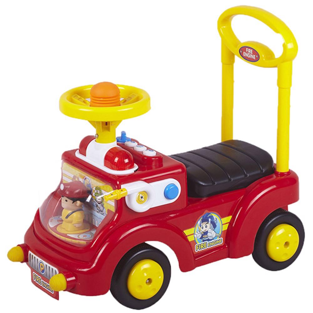 寶貝樂可愛消防員學步車