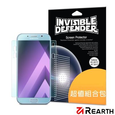 Rearth 三星 Galaxy A7(2017版) 滿版高透光螢幕保護貼