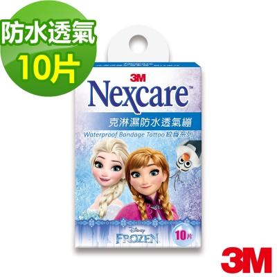 3M OK繃 - Nexcare 克淋濕防水透氣繃 紋身系列 冰雪奇緣(10片包)