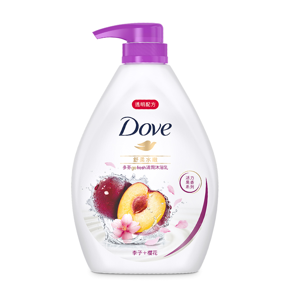 DOVE 多芬 舒柔水嫩沐浴乳 1000ML product image 1