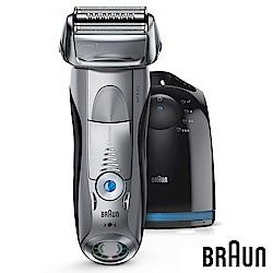(無卡分期-12期) 德國百靈BRAUN-7系列智能音波極淨電鬍刀7899cc(尊爵銀)