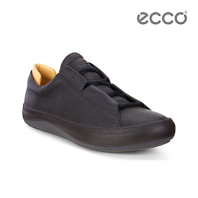 ECCO KINHIN 清新系列休閒鞋-黑