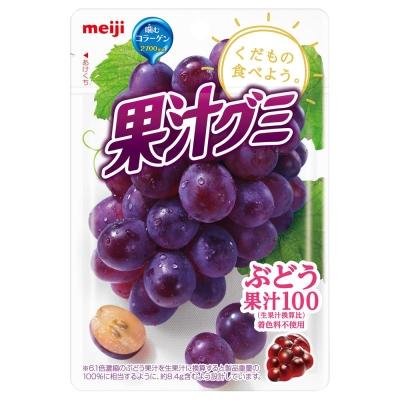 明治 果汁QQ軟糖-葡萄(51g)