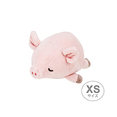 MARSHMALLOW(棉花糖系列) 粉紅豬旅行玩偶