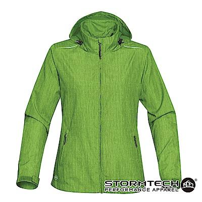 【加拿大STORMTECH】KXH-1W限定版超輕量防潑透氣連帽外套-女-草綠