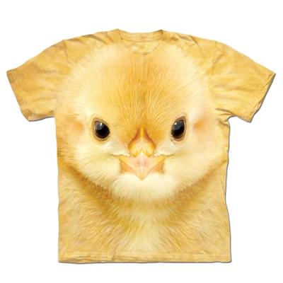 摩達客 美國進口The Mountain黃色小雞純棉短袖T恤