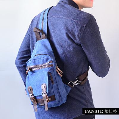 Fanste-梵仕特-帆布漫遊-多功能後背包-306