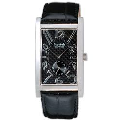 iwatch 鈦鍺能量都會時尚健康腕錶(碳纖維面)