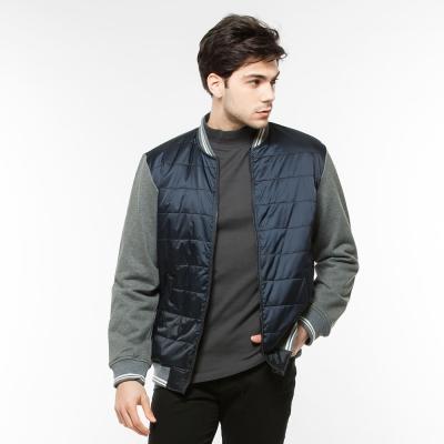 Hang Ten - 男裝 - 恆溫多功能系列保暖鋪棉外套 - 藍