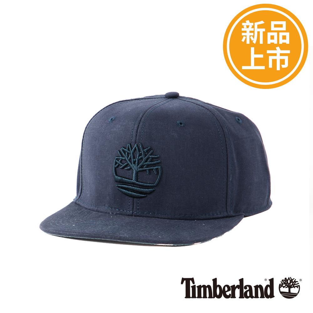 Timberland黑色大樹品牌刺繡LOGO卡車帽