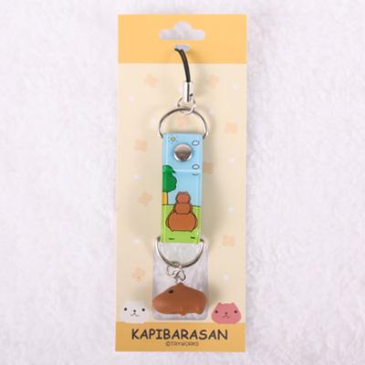 Kapibarasan 水豚君田園農場立體小公仔吊飾-田園