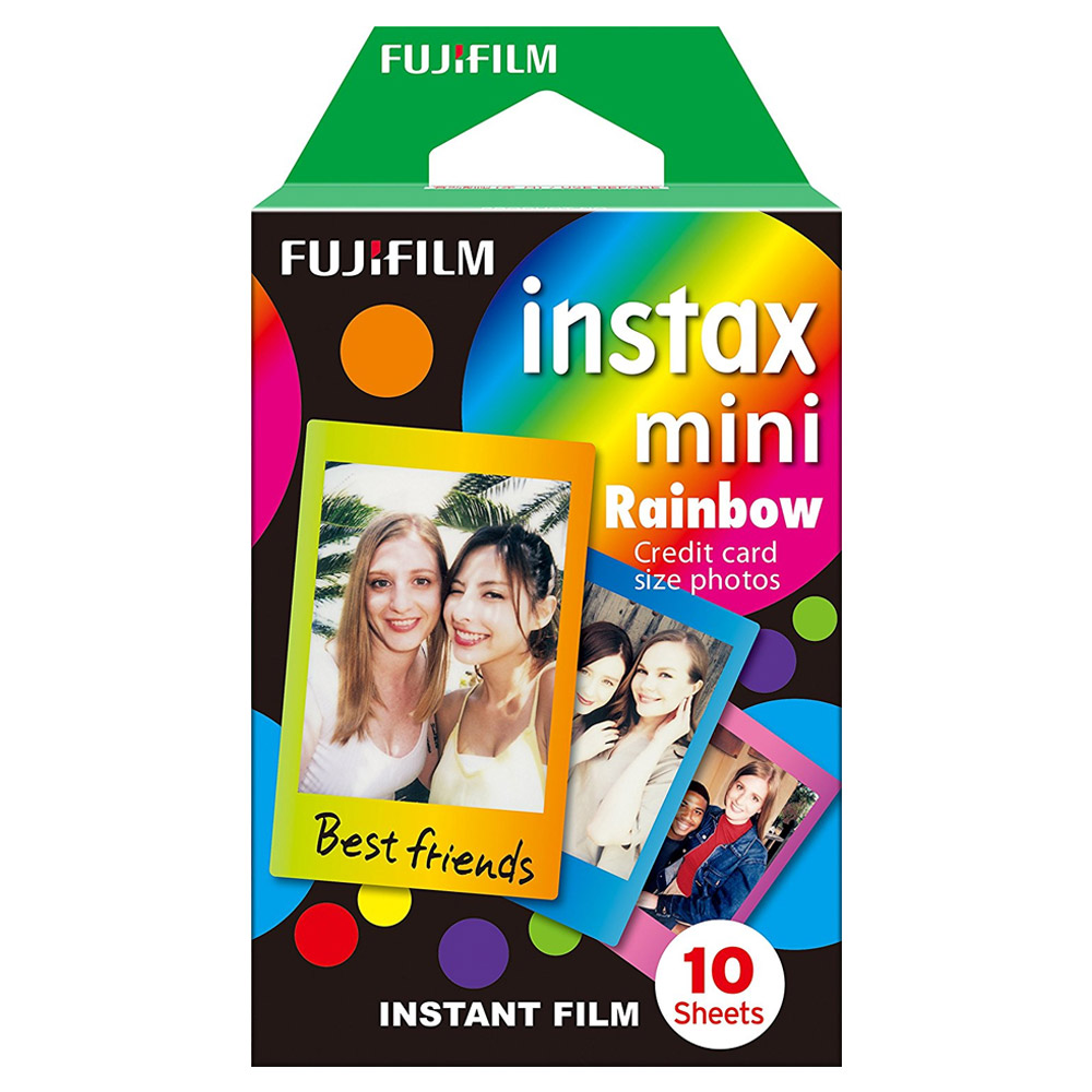 FUJIFILM instax mini 拍立得底片(漸層彩虹)