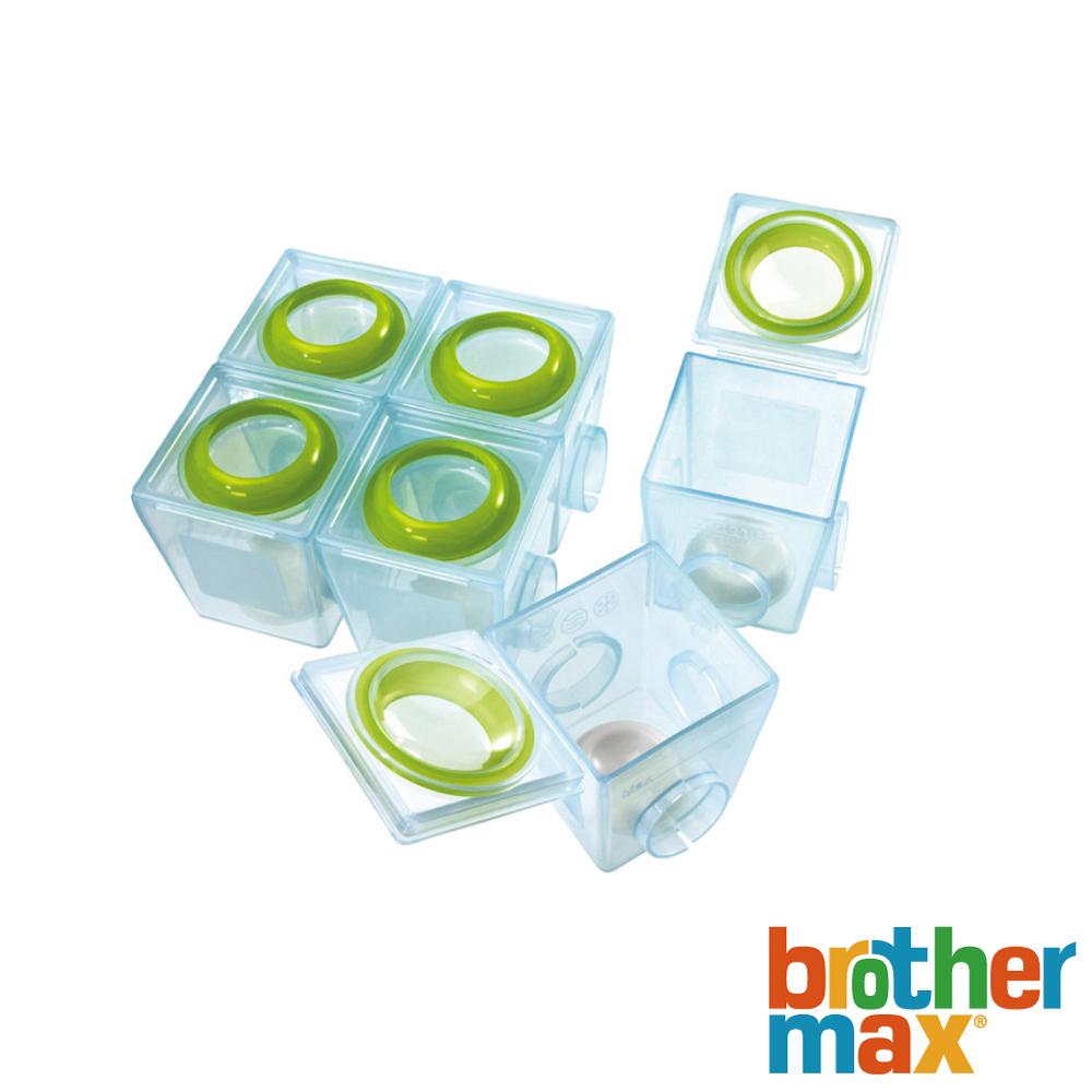 英國 Brother Max 副食品防漏保鮮分裝盒╱小號6盒 - 附專用筆