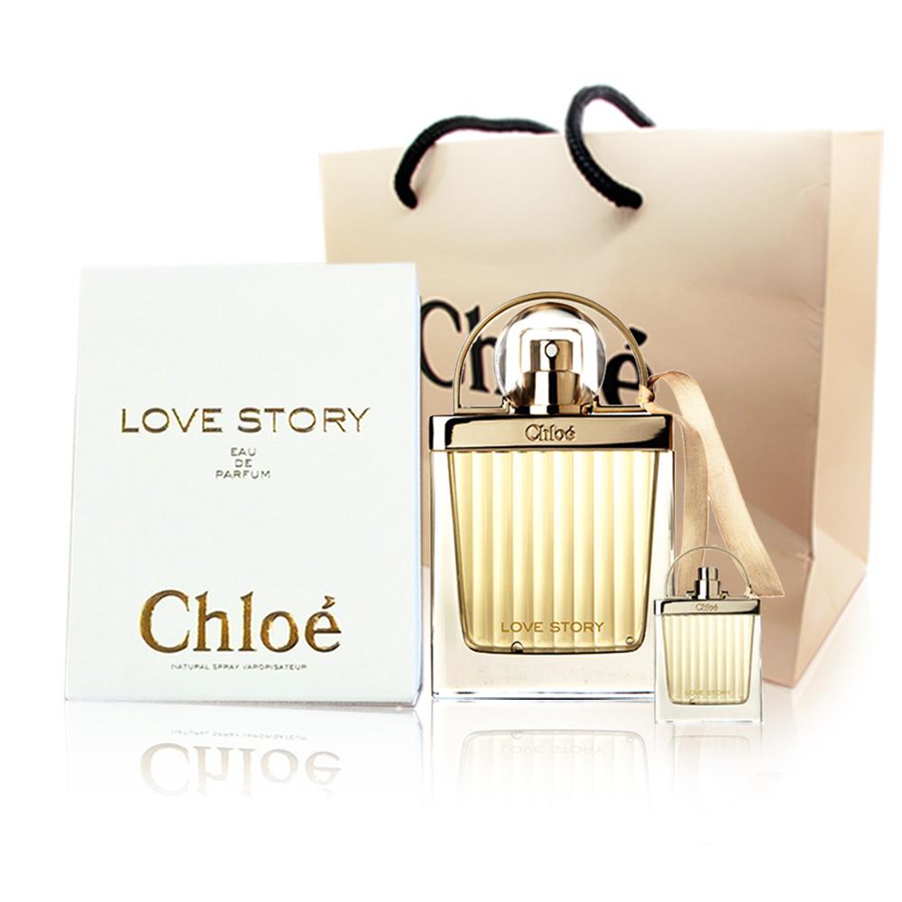 Chloe 愛情故事女性淡香精75ml(贈愛情故事小香7.5ml+同品牌紙袋)