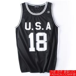 FASHION館 經典復古ORIGINAL網眼籃球衣背心 USA NBA