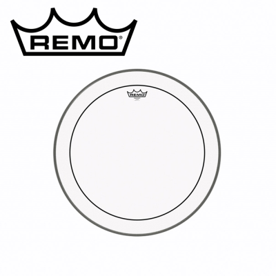 REMO PS-1320-00 20吋雙層透明油面鼓皮