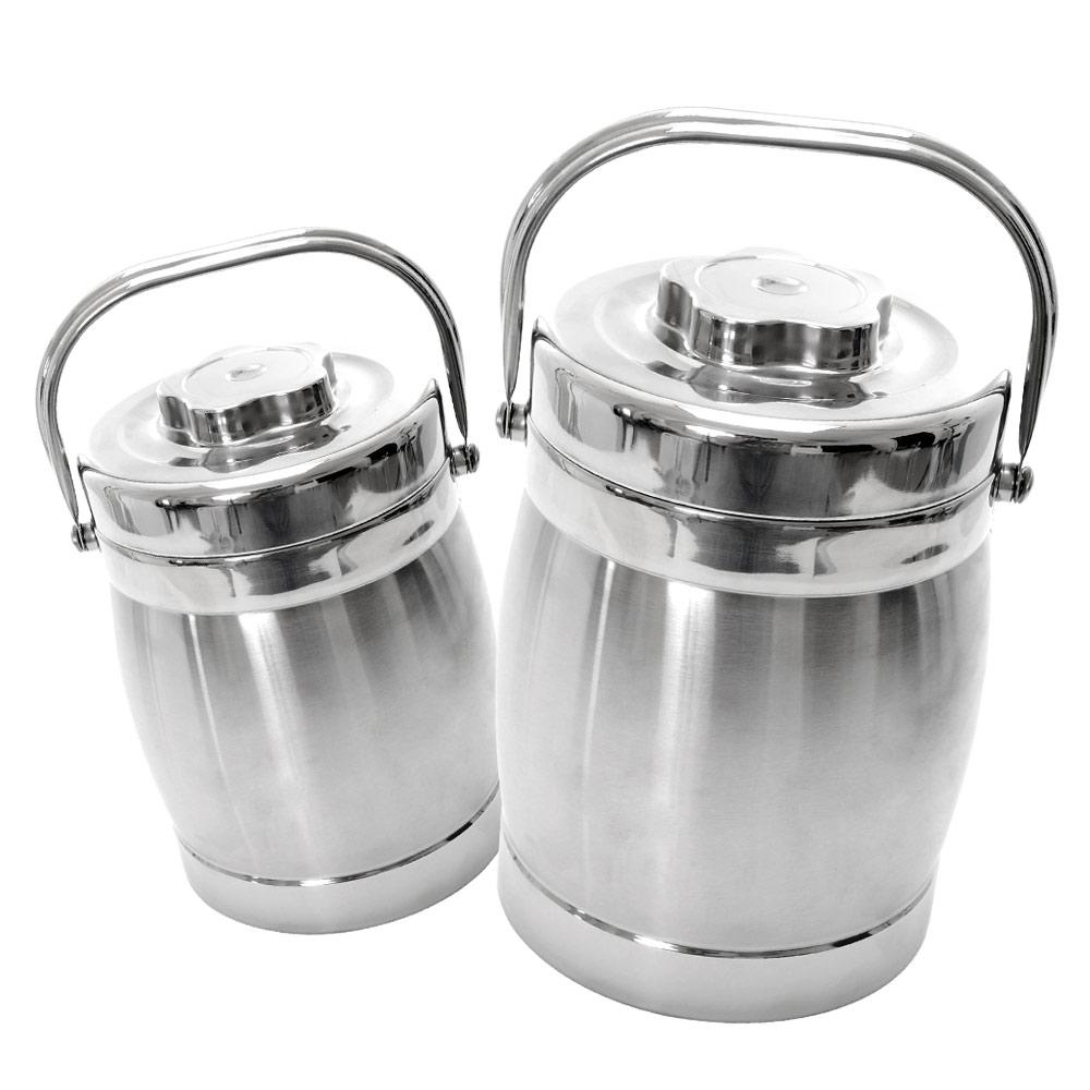 【鵝頭牌】不鏽鋼雙層保溫提鍋(2.0L)兩入組