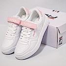 FILA 女款FX-VELTRAP 玩色雙魔鬼氈板鞋-白粉 5-C110S-500