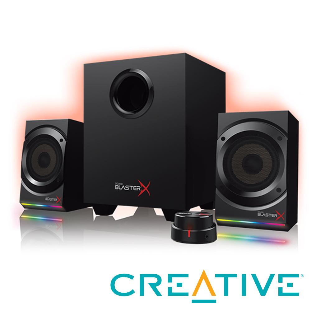 CREATIVE Sound BlasterX Kratos S5 RGB 2.1電競喇叭