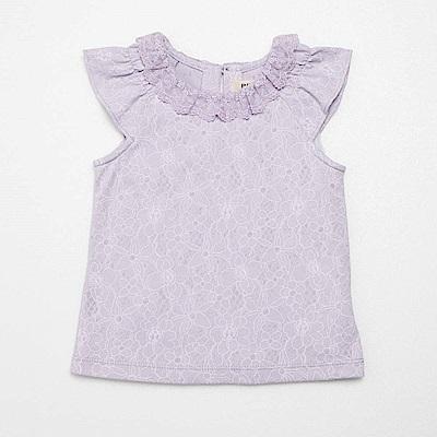 PIPPY 蕾絲浪漫上衣 紫
