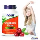 NOW健而婷 蔓越莓植物膠囊食品(100顆/瓶)